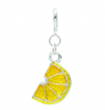 Sour Lemon Fruit Clip On Charm